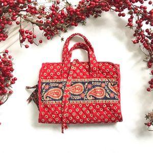 Vera Bradley travel makeup bag